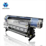 factory price textile / wall paper /film /banner /mesh printing machine , high quality textile printer