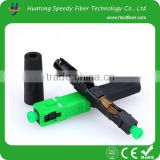 Embedded FTTH Fiber Optic Quick Connector SC/APC SM Fast Connector