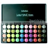 40 color eyeshadow cosmetics, wholesale glitter private label eye shadow palette