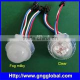 SFTC function TM1814 26mm dmx led pixel SMD 5050 waterproof smart round led pixel module matrix led pixel light