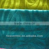 HX04004 100% polyester embossed velvet sofa fabric wholesale