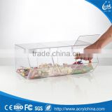 Clear Acrylic Candy Containers ,Acrylic Candy display Racks ,Acrylic Sweets Storage Box                                                                         Quality Choice