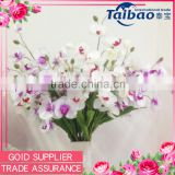 Artificial 7 Branches Orchid Long Stem silk flower artificial orchid plant sale