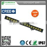 super bright waterproof ip68 22 inch single row 120W led light bar SRLB120-C2 with Chip build-in