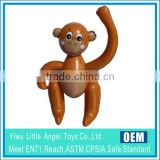inflatable carton party doll toys for kids monkey animal toy