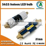 Automobiles & Motorcycle 12v led light dome bulb 31mm led festoon 2 SMD 3623 reading auto lighting system