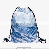 Digital Printing nylon fabric shopping bags,backpack ,drawstring bag ,customized CMYK printing is welcome