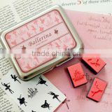 Ballerina DIY stamp Ballet dance gifts ballet dance accessories