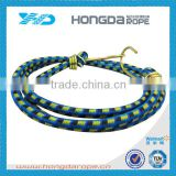 Polyester elastic bungee rope shock cord tie down white mixed blue