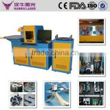 Hanniu Laser stainless steel bending machine hot sale automatical bending machine for processing advertising fonts
