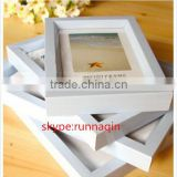 Hot sale China made high quality slide surface handmade 4x6 PVC plastic photo picture frame