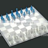 Very popular transparent chess international chess toys