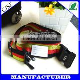 Famous Brand High quality 2m luggage strap belt with combination lock