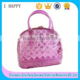 Soft Shinny PVC Tote Bag Silicone Handbag Wholesale                                                                         Quality Choice