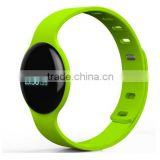 latest H8 wearable bluetooth smart wrist band bracelet watch oled