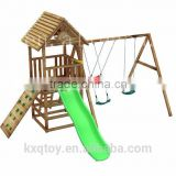 Simple and small Wooden Playground/Playground Slide/Outdoor Equipment