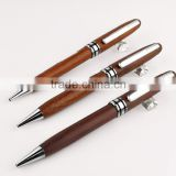 exquisite design wood metal fountain pen for business