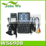 digital satellite finder meter ws 6908 on hot sale with good quality and best price of china supplier