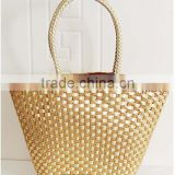 Latest 2015 Fashion Casual Retro Ladies Straw bulk Bag Woven Handbag Fashion paper straw Bags