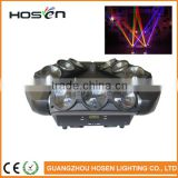 three heads 9pcs*10W 4in1 RGBW LED Spider Light/DMX512 Pixel LED Spider Beam Moving Head Light For Stage Event