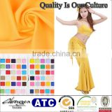 shiny stretch many bright colors ballroom dresses for children fabric