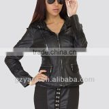 Feminine Jacket Synthetic Leather Jackets