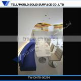 Latest Fashion Design modern elegant fast restaurant chair and table acrylic dining table and chairs