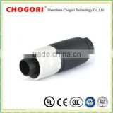 Chogori amp 3 pin waterproof connector