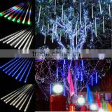 30CM Meteor Shower Rain Tubes LED Christmas Light Wedding Garden Decoration Lighting 100-240V/US Warm White