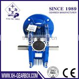 NMRV worm gearbox with gear drive
