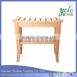 Wholesale Hot Sale bamboo shower seat bathroom seat bamboo bench                                                                         Quality Choice