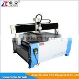 Discount Price 4 Axis Adveritising CNC Router Machine ZK-1212 1200*1200MM Wiith 120MM Z-Axis Of DSP Offline Control