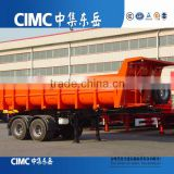 CIMC 2 Axles U Shape Dump Semi Trailer