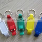HEYU key chain plastic keychain beer bottle opener for promotion                                                                         Quality Choice