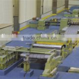 Steel sheet shearing and slitting machine metal sheet slitting machine line steel coil cut to length line