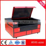 China hot sale Beijing Reci Mini Laser Cutting Machine for double colour board,wood,acrylic,leather,steel,timberland boots