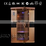 2 Person Use Indoor Dry Sauna Rooms Low EMF Far Infrared Sauna Room For Beauty Care(CE/ISO/TUV/RoHS)