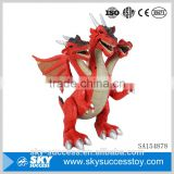 Factory customized children plastic battery operated dinosaur toy