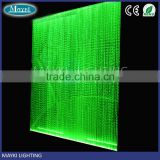 DIY Shimmering led fiber optic curtain with colors changing effect for wedding backdrop decoration