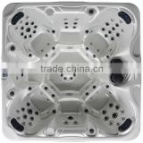 2014 New Desgin Outdoor Mutiple Air water Jets spa hot tub bath with heater