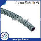 Fiber Braided reinforce colored Agriculture flexible plastic PVC High Pressure Korea Spray water Hose pipe tube