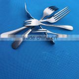 High Quality Stainless Steel Cutlery Dinner Meal Salad Fruit Cake Dessert Fork Tableware Set S65