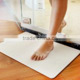 Fast drying diatomaceous earth bath mat anti-slip, anti-bacteria, super absorbtion