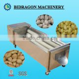 Potato&Carrot roller brush washing and peeling machine from 0.5 tons-5 tons per hour