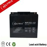 12v 22ah agm sealed lead acid battery