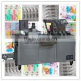 Automatic Blister packaging machine used to packing toothbrush from Guangzhou Laymax company
