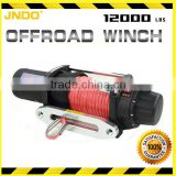 Synthetic line 12000lbs jeep winch with aluminium hawse fairlead