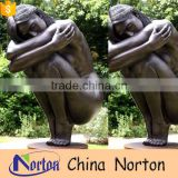 life size nude woman bronze sculpture for park decoration NTBH-S792X