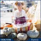 Baby Latest Christmas Dress Designs 3\4 Sleeve Fashion Kids Girls Halloween Lace Puffy Formal Party Dresses