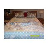 Home Fleece King Size Micro Fleece Fiber Blanket Printed With Polyester , Antistatic Blankets
